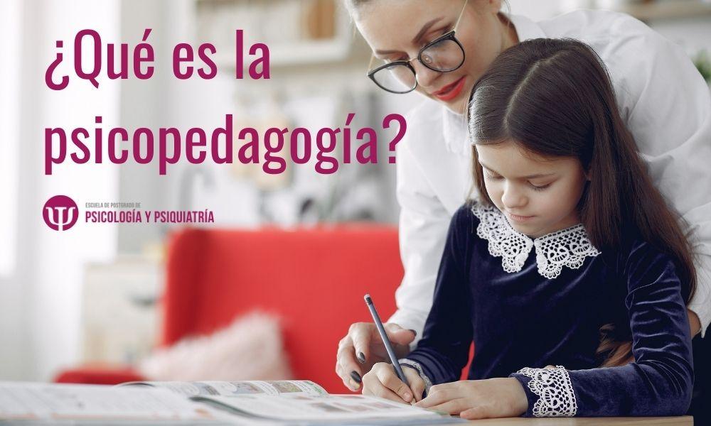 ¿Qué es lo que hace un psicopedagogo?
