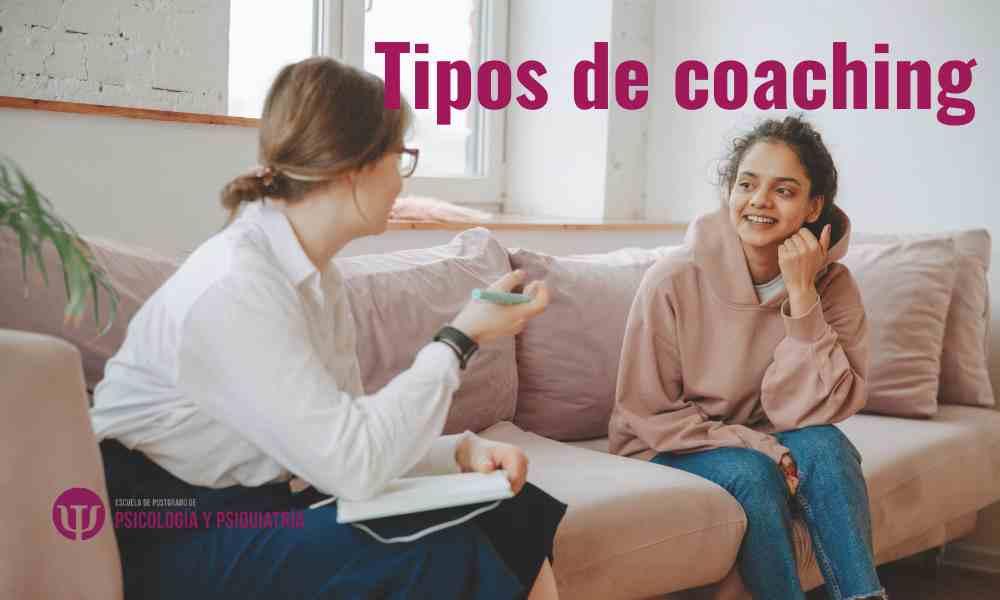 ¿Cuáles son los tipos de coaching?
